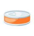 stylized canned food vector image