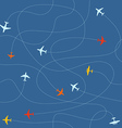 Different plane ways abstract scheme Seamless vector image vector image
