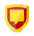 emblem talk symbol vector image vector image