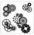 Gear Background Design - set vector image vector image