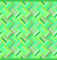 green seamless diagonal rectangle pattern - tiled vector image vector image