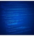 HTML Coding Background vector image