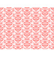 light coral pattern vector image vector image