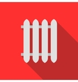 Radiator icon in flat style vector image vector image