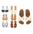 slippers beach summer multicolored female