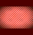 warning sign red and white stripes with grunge vector image vector image