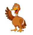 Cartoon Duck vector image