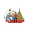 christianity religion new year celebration vector image