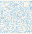 doodle hand drawn abstract vector image vector image