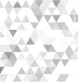 Grey background corner vector image vector image