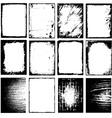 grunge border frame vector image vector image