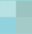 Seamless halftone dots vector image vector image