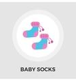 Children socks Flat Icon vector image vector image