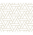 modern simple geometric seamless pattern vector image vector image