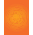 bright and bold orange background texture vector image vector image