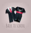 childrens uniforms for vector image