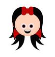 cute halloween vampire cartoon character vector image