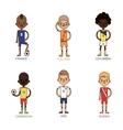 National Euro Cup soccer football teams vector image vector image