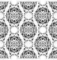 seamless abstract floral geometrical ornament vector image vector image