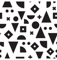seamless abstract geometric pattern vector image vector image