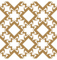 seamless geometric background abstract design vector image