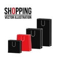 shopping design bag icon sale concept