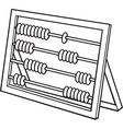 Abacus Icon vector image vector image