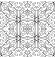 Abstract pattern contours vector image vector image