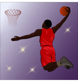 Basketball Slam Dunk - vector image