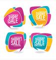 bright sale vector image vector image