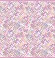 colorful geometrical diagonal rectangle tile vector image vector image
