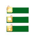Eco icon ad tag ribbon banner eps10 004 vector image vector image