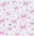 japanese bow tie pattern vector image
