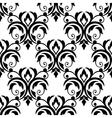 Scrolling floral design elements vector image vector image