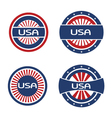 Seals USA vector image vector image
