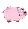 Smiling Piggy vector image vector image
