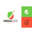 top graph logo business analytics chart symbol vector image vector image