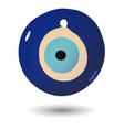 Turkish evil eye bead vector image