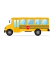 Yellow School Bus vector image vector image