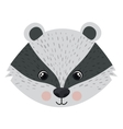 Isolated skunk cartoon design vector image