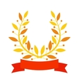 Branch award vector image