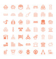49 structure icons vector image vector image
