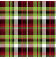 abstract tartan background check seamless pattern vector image vector image