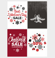best valentines day sale vector image vector image