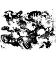 black and white grunge texture watercolor hand vector image vector image