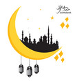 eid al fitr event background 14 vector image vector image