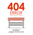Error design vector image