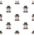 jewhuman race single icon in cartoon style vector image vector image