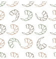Shrimp seamless pattern vector image