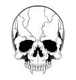 Skull hand drawingshirt designs biker disk jockey